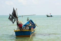Los barcos de pesca de cola larga Imagen de archivo