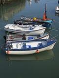 Los barcos en puerto Fotografía de archivo libre de regalías