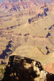 Los barrancos llevan al río Colorado Imagen de archivo