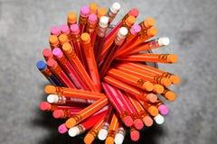 Los Bleistifte, Briefpapier, ein Schreibwarengeschäft Lizenzfreies Stockfoto