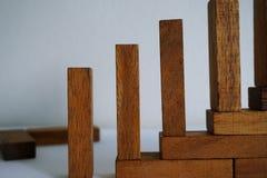 Los bloques de madera imagen de archivo libre de regalías