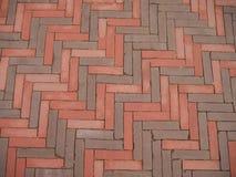 Los bloques de piedra de Nthe son rojos y grises imagenes de archivo