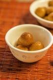 Los bocados diarios sanos sabrosos de la comida comen Fotos de archivo libres de regalías