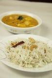 Los bocados diarios sanos sabrosos de la comida del queso de Paneer comen Foto de archivo libre de regalías