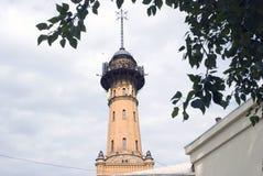 Los bomberos se elevan en Moscú, en 1880 es construido imágenes de archivo libres de regalías