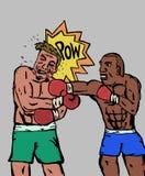 Los boxeadores Imagen de archivo