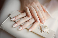 Los brazos de la novia Imagen de archivo