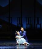 Los brazos-detrás de Guo Prince a las emperatrices palacio-modernas del drama en el palacio Imagen de archivo libre de regalías