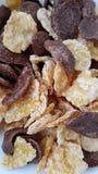 Los buenos copos de maíz desayunan imágenes de archivo libres de regalías