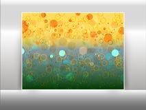 Los círculos abstractos les gusta efecto del bokeh Foto de archivo libre de regalías
