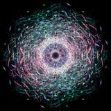 Los círculos coloridos abstractos, puntos, burbujean fondo Foto de archivo libre de regalías