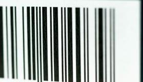 Los códigos de barras texturizan cerca encima de tiro macro Fotografía de archivo libre de regalías