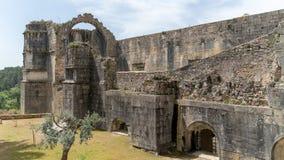 Los caballeros del Templar o de los conventos de Cristo se escudan, detallan, Tomar, Portugal fotos de archivo libres de regalías