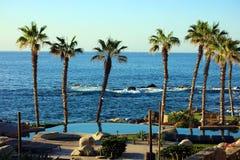 Los Cabos墨西哥Cabo圣卢卡斯海滩胜地50 megapixels pic 图库摄影