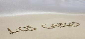 Los Cabos Imagen de archivo libre de regalías