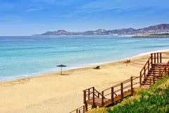 Los Cabos Beach, Mexico. Sea of Cortez and beach in Los Cabos, Mexico Stock Photo