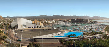 Los Cabos (Cabo San Lucas), Mexico view from above. Panorama. Royalty Free Stock Image