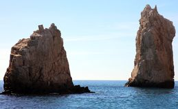 Los Cabos Mexico The Arch El Arco cabo san Lucas excellent view. Tourist point of interest Stock Photos