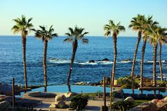 Los cabos Mexico Cabo San Lucas Beach Resort 50 megapixels pic Stock Photography