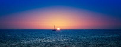 Los Cabos Sunset Stock Photography