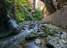 Los Cahorros en Monachil, Granada Obraz Stock