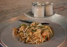 Los camarones rellenan tailandés Fotos de archivo