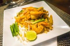 Los camarones rellenan tailandés, Thailand& x27; platos del nacional de s Fotografía de archivo