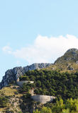 Los caminos twisty de la montaña, las curvas imágenes de archivo libres de regalías