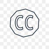 Los campos comunes creativos vector el icono aislado en fondo transparente, libre illustration