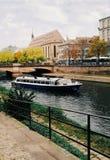 Los canales de Estrasburgo fotografía de archivo libre de regalías
