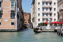 Los canales de Venecia Foto de archivo
