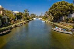 Los canales de Venecia? como aparecen hoy Imagen de archivo libre de regalías