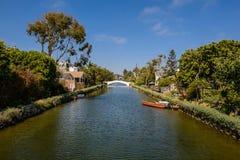 Los canales de Venecia? como aparecen hoy Imagen de archivo