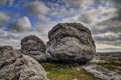 Los cantos rodados de Burren foto de archivo libre de regalías