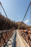 Los capitanes tienden un puente sobre en barranco de los capitanes Foto de archivo