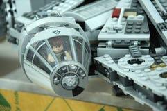 Los caracteres del jedi de las guerras de estrellas de Star Wars otorgan la concesión de películas Fotos de archivo