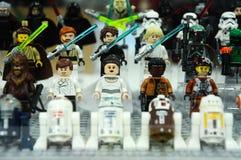 Los caracteres del jedi de las guerras de estrellas de Star Wars otorgan la concesión de películas Fotos de archivo libres de regalías