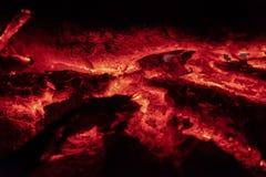 Los carbones encienden en la noche fotos de archivo libres de regalías