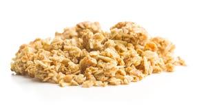 Los cereales de desayuno del granola Imágenes de archivo libres de regalías