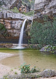 Los Charcos Waterfall Spain Royalty Free Stock Photo