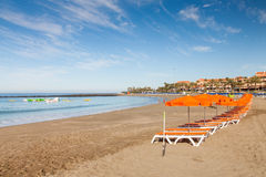 Los Christianos Beach Stock Images