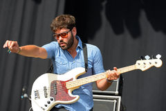 Los Claveles (band) performs at FIB Festival Stock Photo