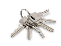 Los claves. Foto de archivo libre de regalías
