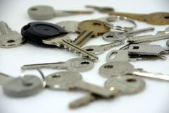 Los claves imagen de archivo libre de regalías