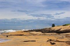 Los cobertizos de los pescadores. foto de archivo libre de regalías