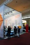Los coches eléctricos del soporte el 20 de marzo de 2015 Fotografía de archivo