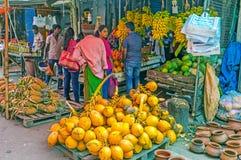 Los cocos amarillos Imagen de archivo