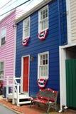 Los colores de Annapolis Imágenes de archivo libres de regalías
