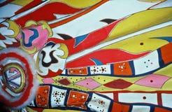 Los colores de Bahamas Junkanoo Fotografía de archivo