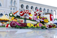 Los colores de Fest de la flora de la armonía visitan Malasia 2007 Imagen de archivo libre de regalías